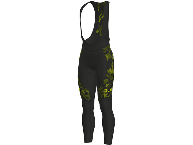 Alé Cycling Graphics PRR Glass Bib Tights Herr nero-glo fluo/black-yellow fluo
